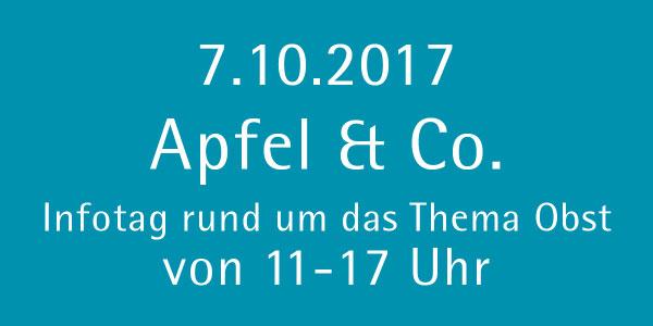 Apfel & Co. am 07.10.2017 in der Baumschule Dietrich